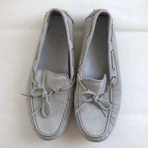 Cole Haan Light Grey Driving Shoes Size 6.5